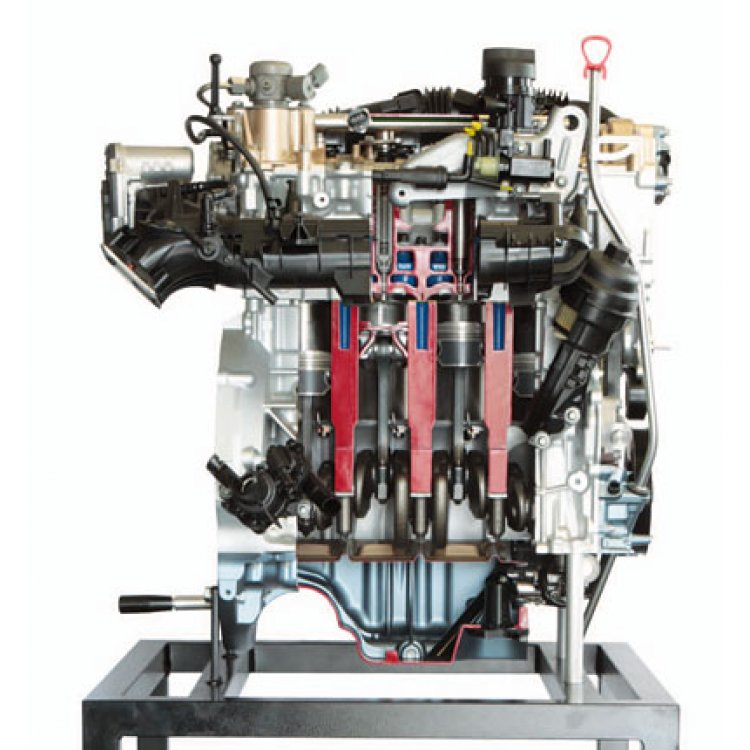 Petrol direct injection engine M 270 Mercedes Benz