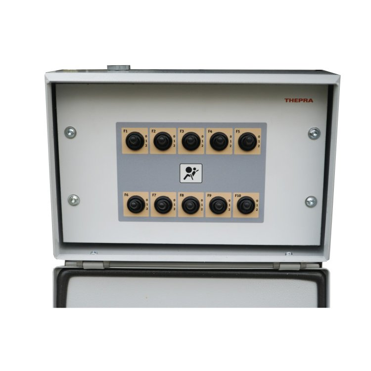 Fault circuit 10 switches, 20 errors, lockable