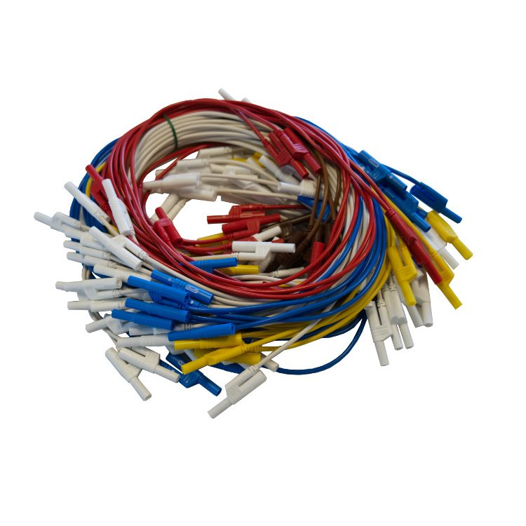 Set of safety connecting cables 4mm T-Varia Motormanagement