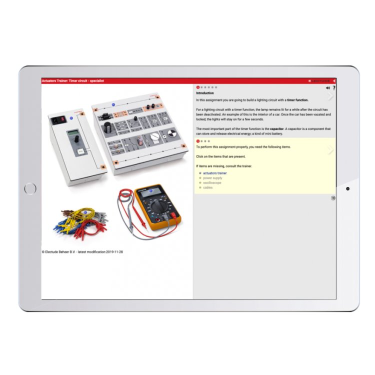 Digital work orders Automotive Electronics and Actuator...