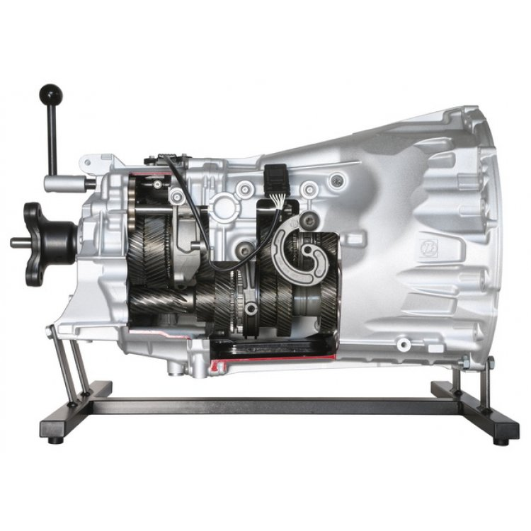 6-speed ZF manual transmission