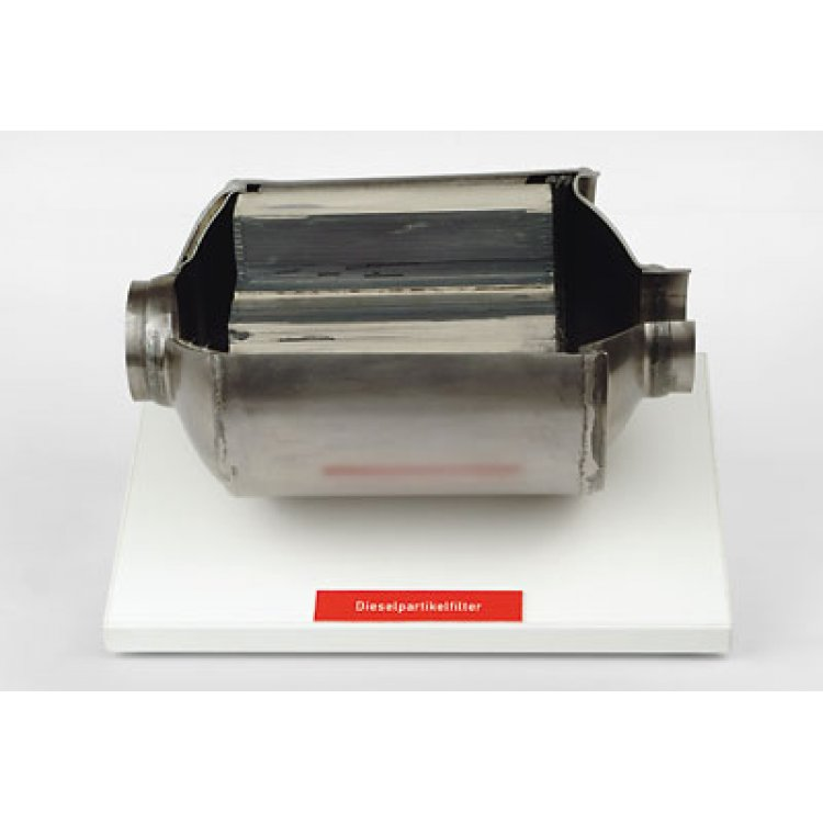 Diesel particulate filter (soot filter)